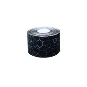 Thera-Band Kinesiologische Tape Rol - 5 m - Zwart/Grijs