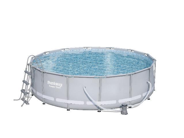 Bestway power steel vendavel zwembad rond 427 x 107 cm kopen