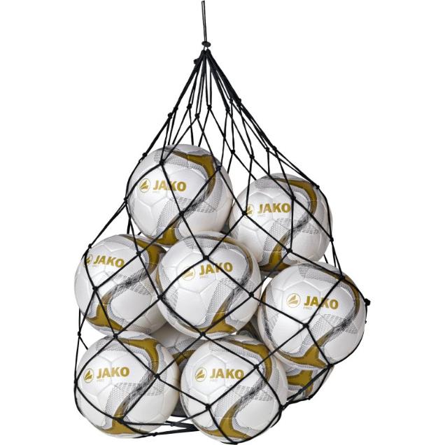 Image of   Jako Ball netto 10 bolde - Sort