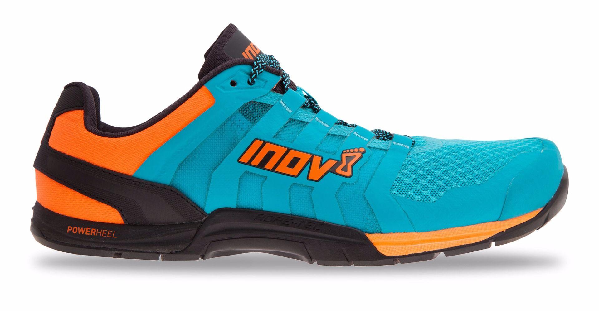 Inov-8 F-Lite 235 Fitness schoenen Heren - Blauw / Neon Oranje / Zwart thumbnail