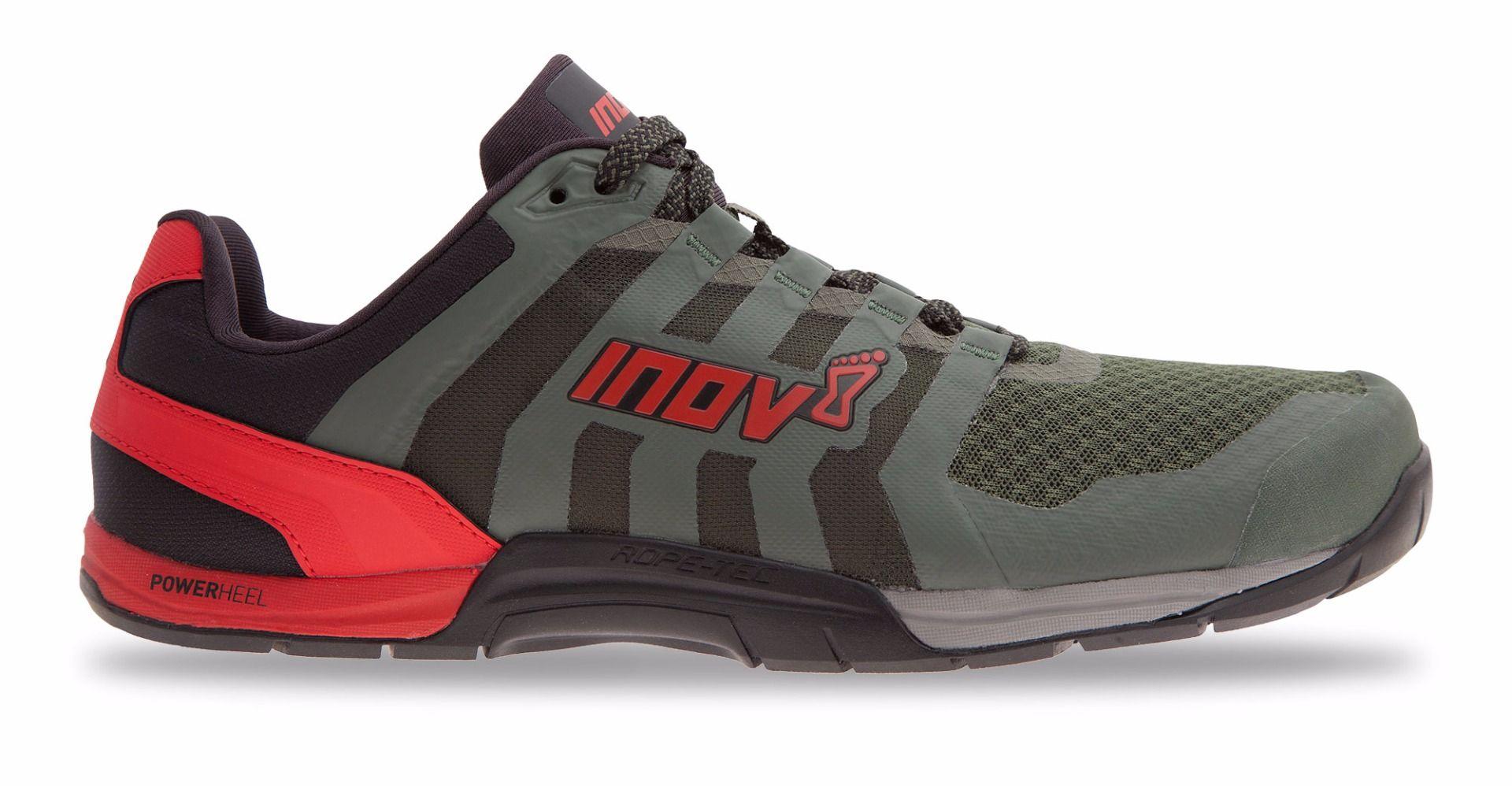Inov-8 F-Lite 235 Fitness schoenen Heren - Donker Groen / Zwart / Rood - 45 thumbnail