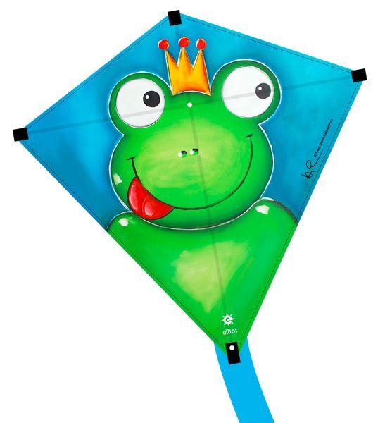 Image of   Elliot Eddy 75 Kids Kite - Frog