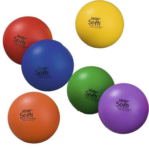 Image of   Volley ELE Soft Foam Ball - 160 mm - 65 g - Orange