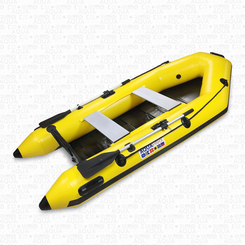 Image of   Aquaparx RIB280 PRO Inflatable Motorboat - Yellow
