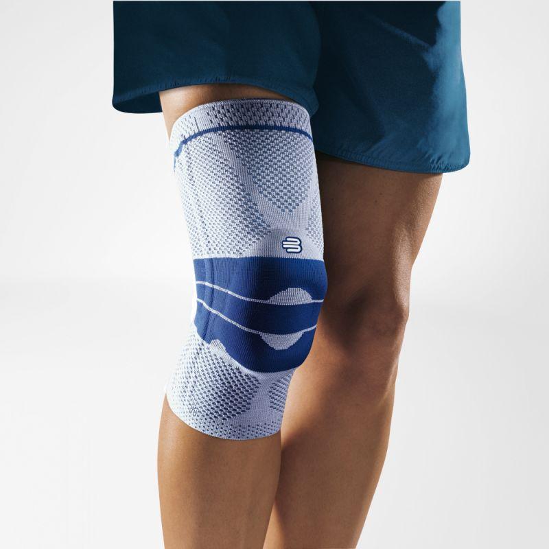 Image of   Bauerfeind GenuTrain Knee Bandage - Titanium - 0