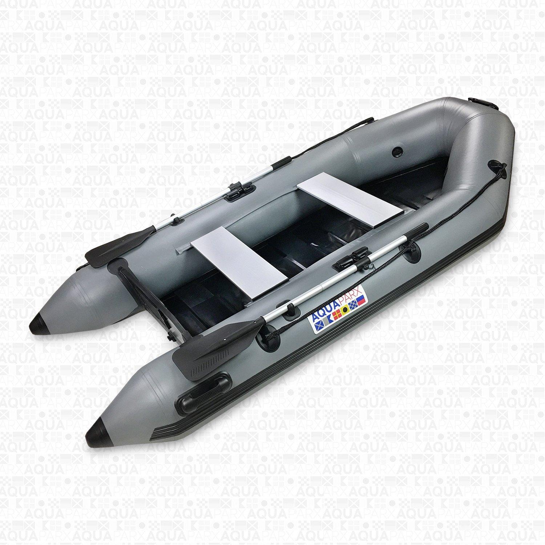 Image of   Aquaparx RIB280 PRO Inflatable Motorboat - Grey