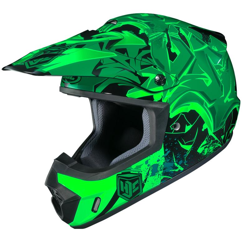 HJC CS - MX II Graffed Motorhelm