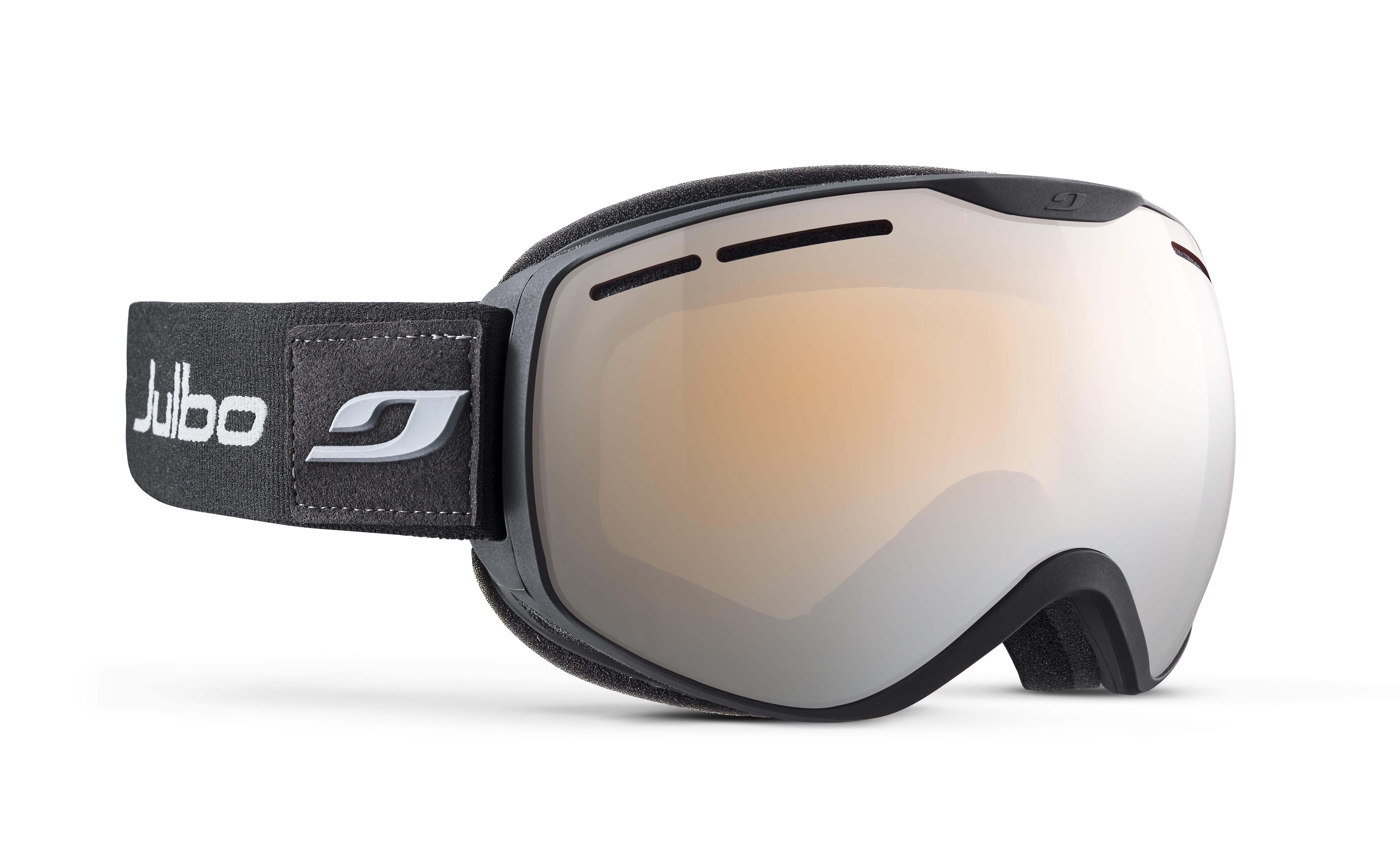 Image of   Julbo Ison XCL Ski Goggles - black / grey - Orange Polarized 3