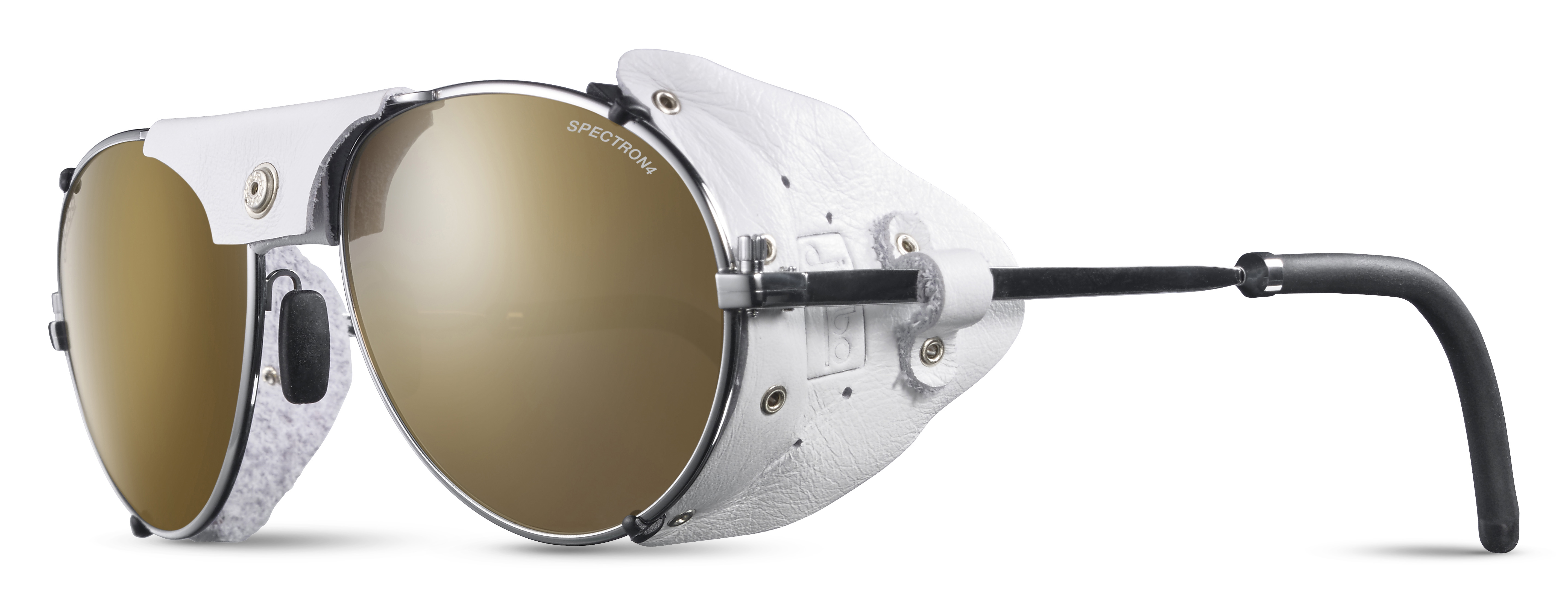 Image of   Julbo Cham Spectron 4 Sunglasses - Silver / White