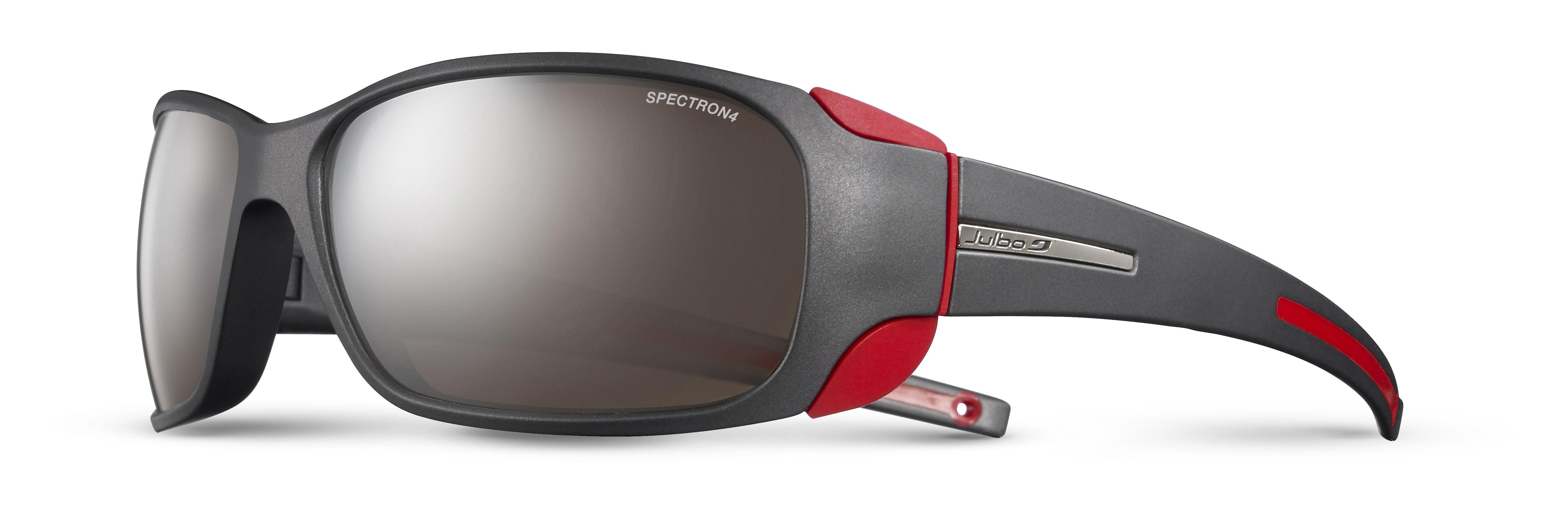 Image of   Julbo Montebianco Spectron 4 Sports Briller Large - Matt Sort / Rød
