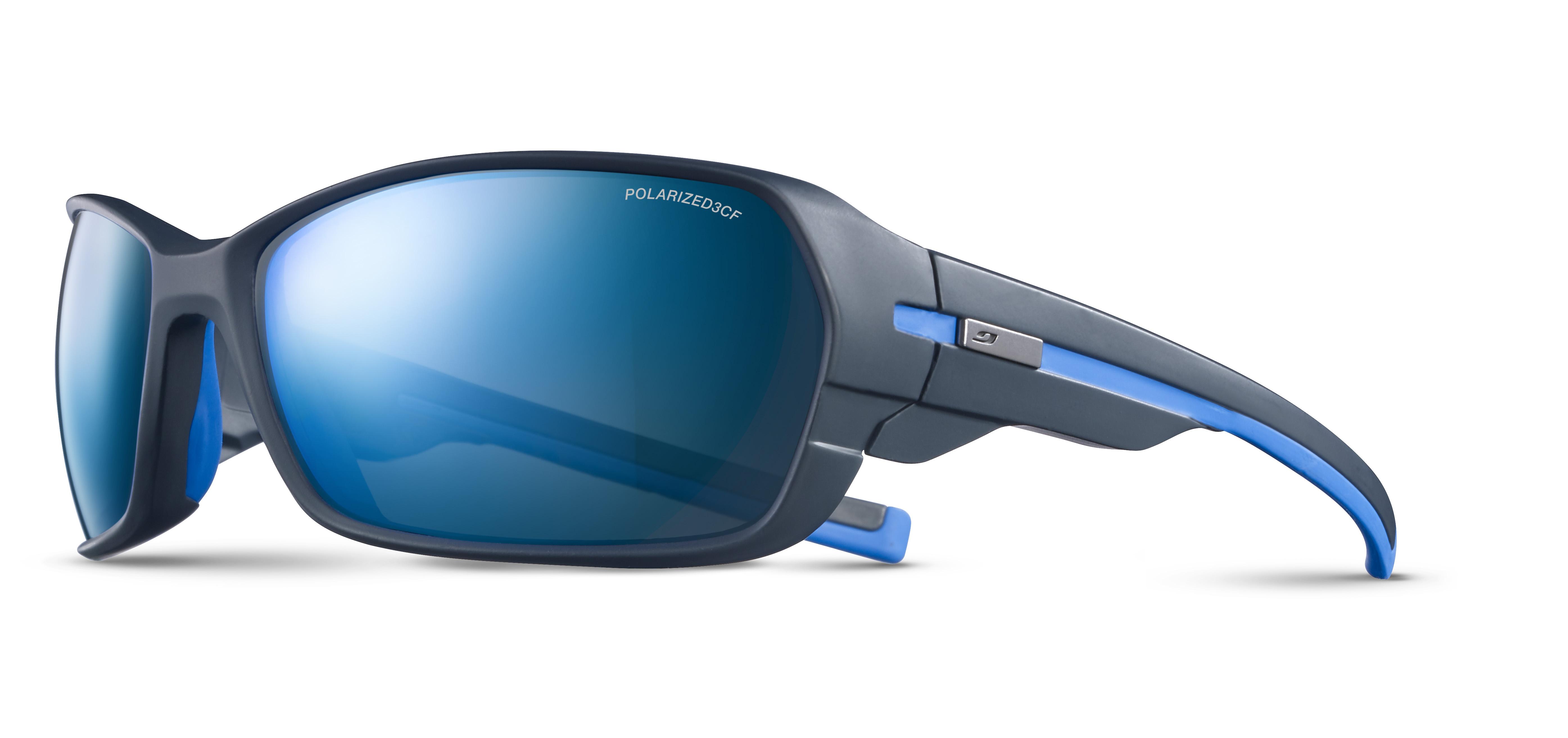 Image of   Julbo Dirt 2.0 Polarized 3Cf Sunglasses - Very Dark Blue/ Blue