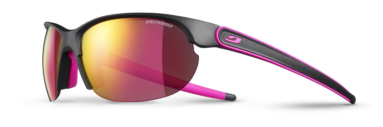 Image of   Julbo Breeze Spectron 3CF Solbriller - Sort mat / Pink