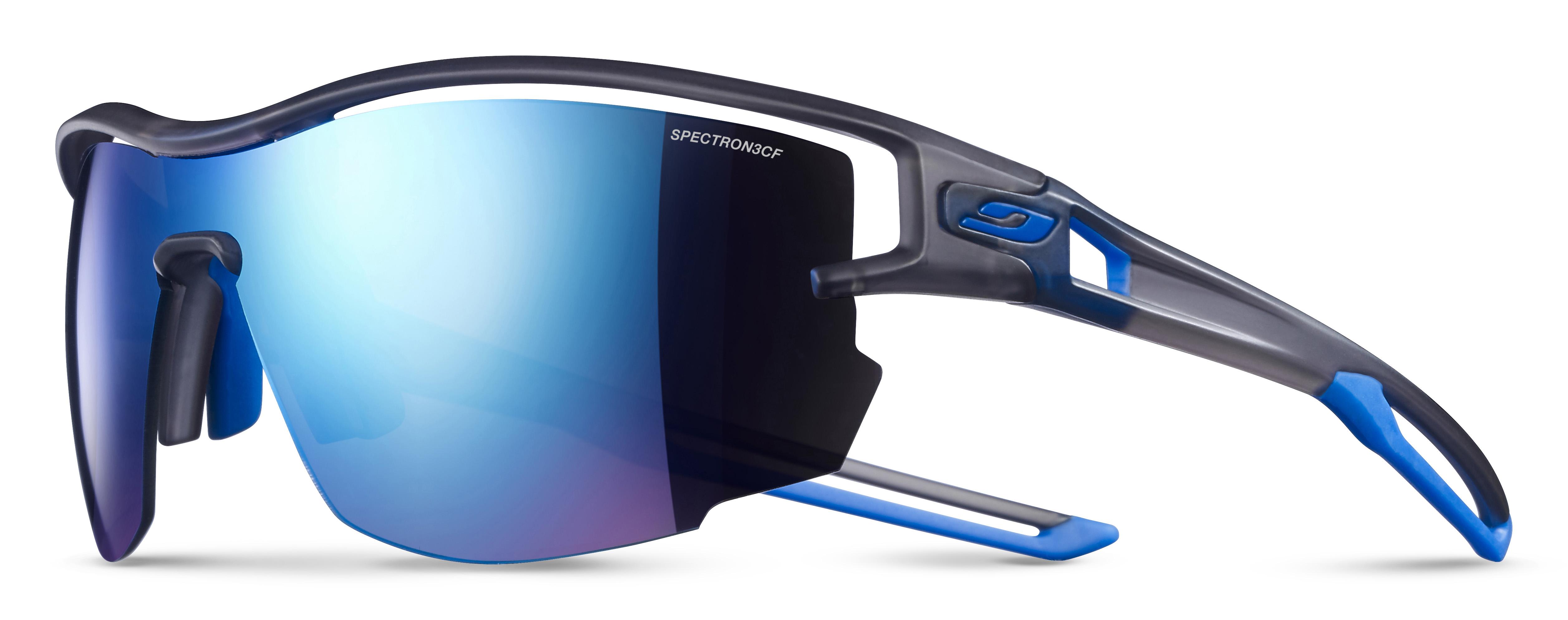 Image of   Julbo Aero Spectron 3Cf Sunglasses - Translucide Grey / Blue