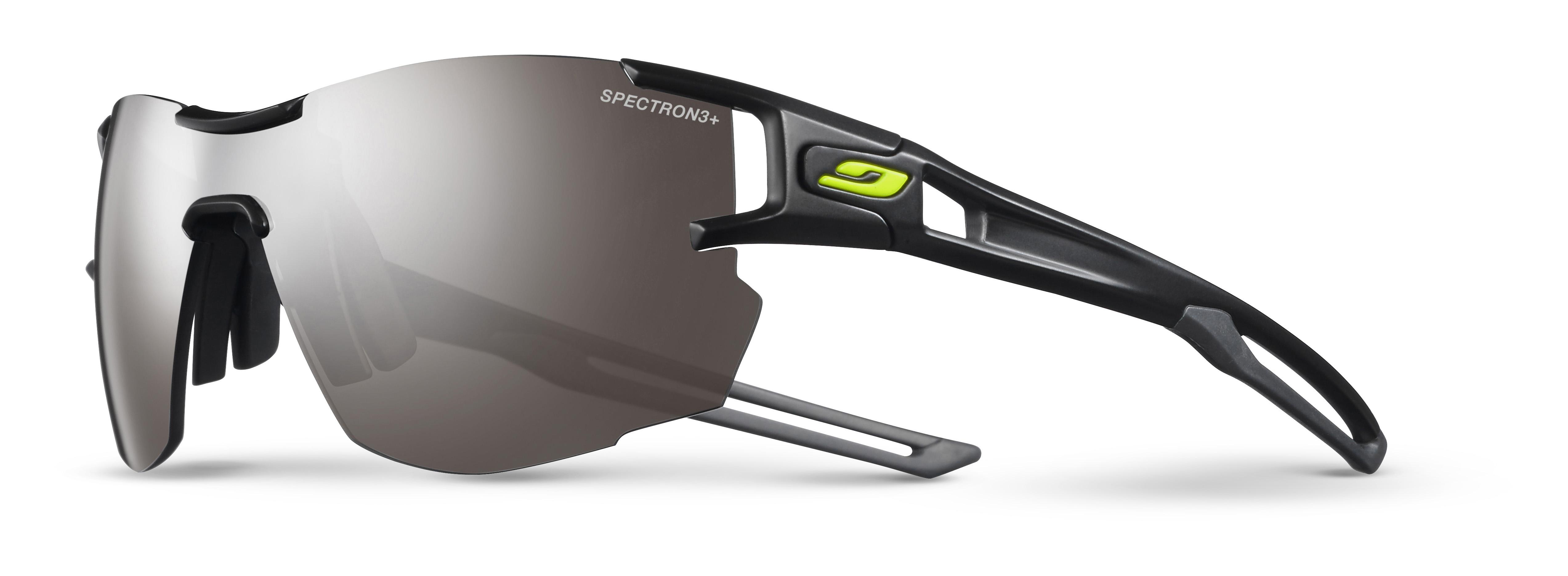 Image of   Julbo Aerolite Spectron 3+ Sunglasses - Black/Grey