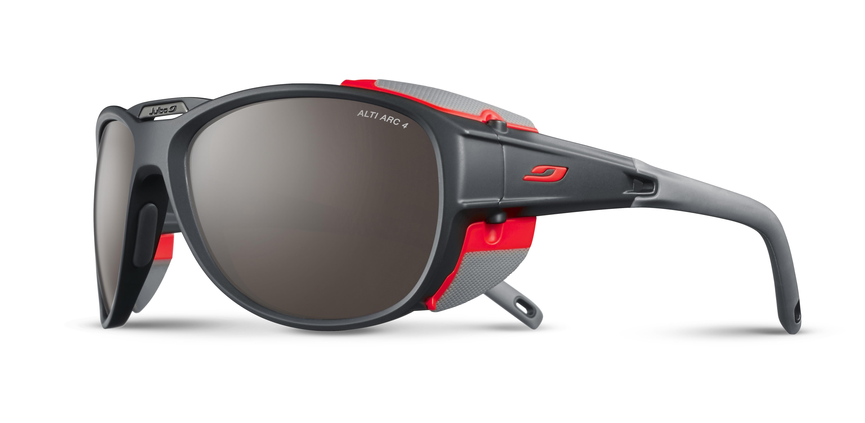 Image of   Julbo Explorer 2.0 Alti Arc 4 Sunglasses - Anthracite / Orange