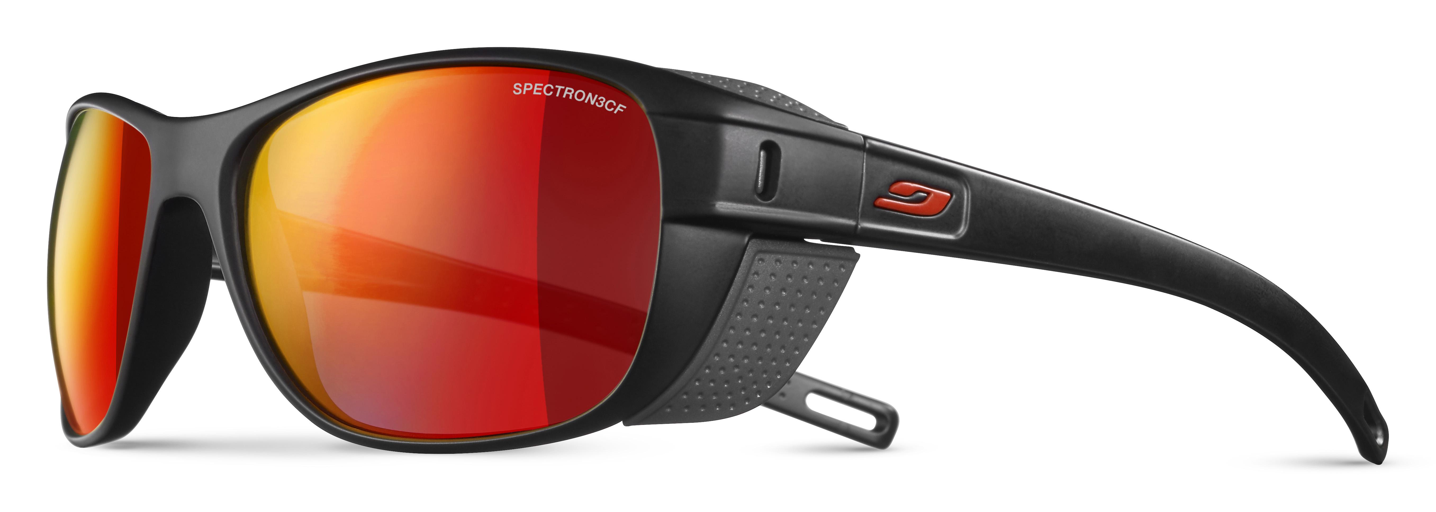 Image of   Julbo Camino Spectron 3Cf Sunglasses - Black / Red
