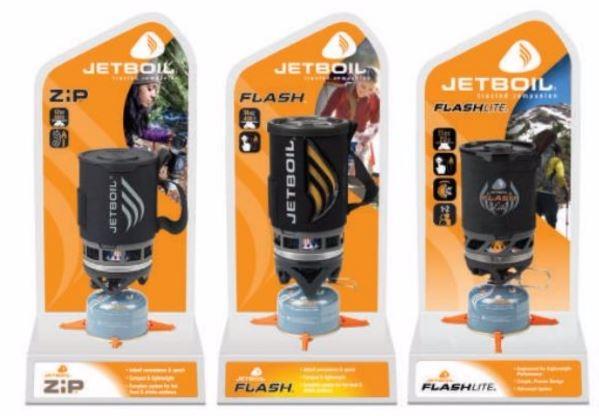 Image of   Jetboil pop display blinker, zip, sol, sol-ti, sumo, sumo-ti