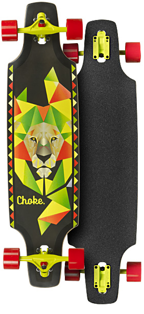 Image of   Choke Lion Dropthrough Trick Longboard 37,5 tommer