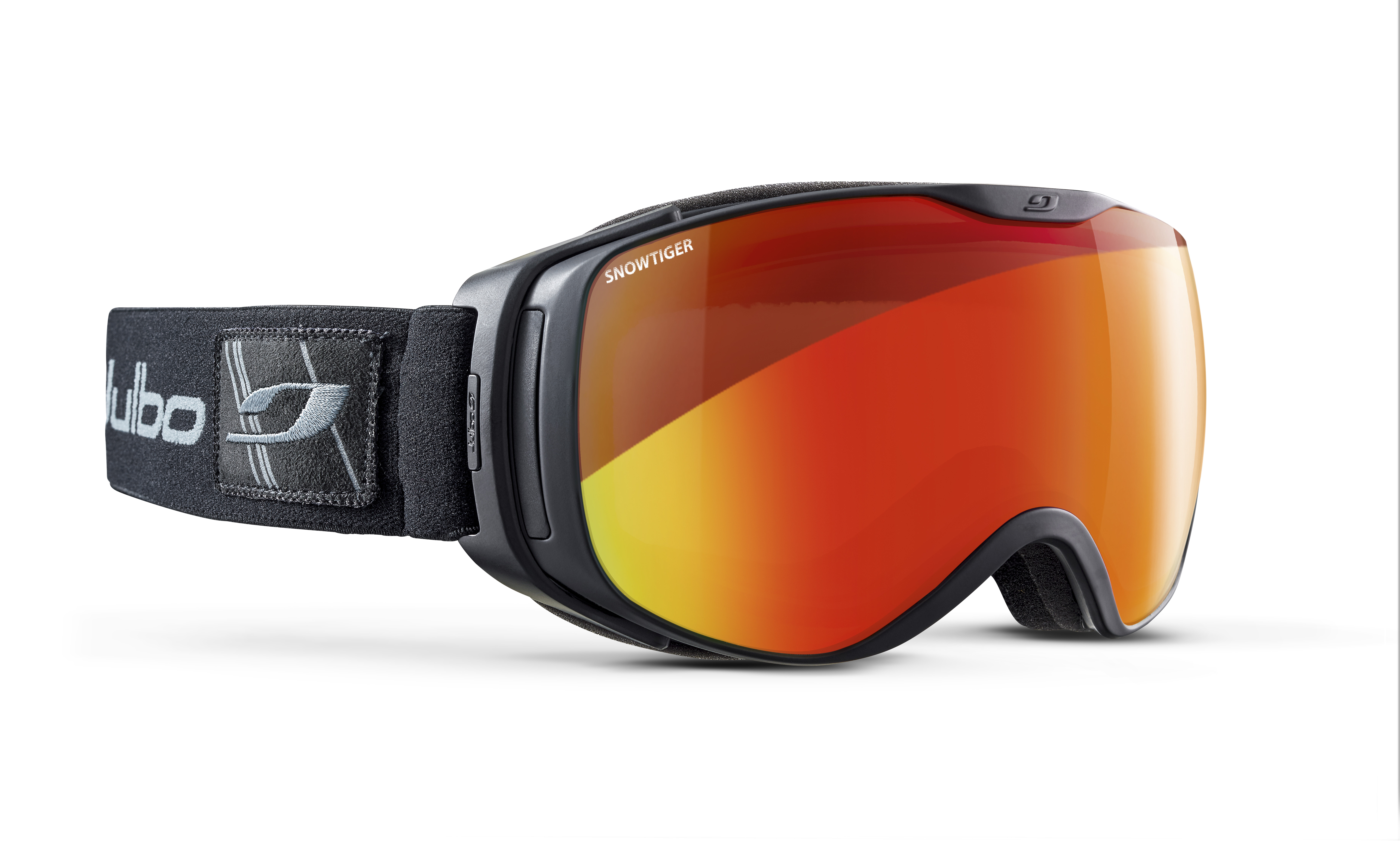 Image of   Julbo Luna Ski Goggles - Black - Snow Tiger