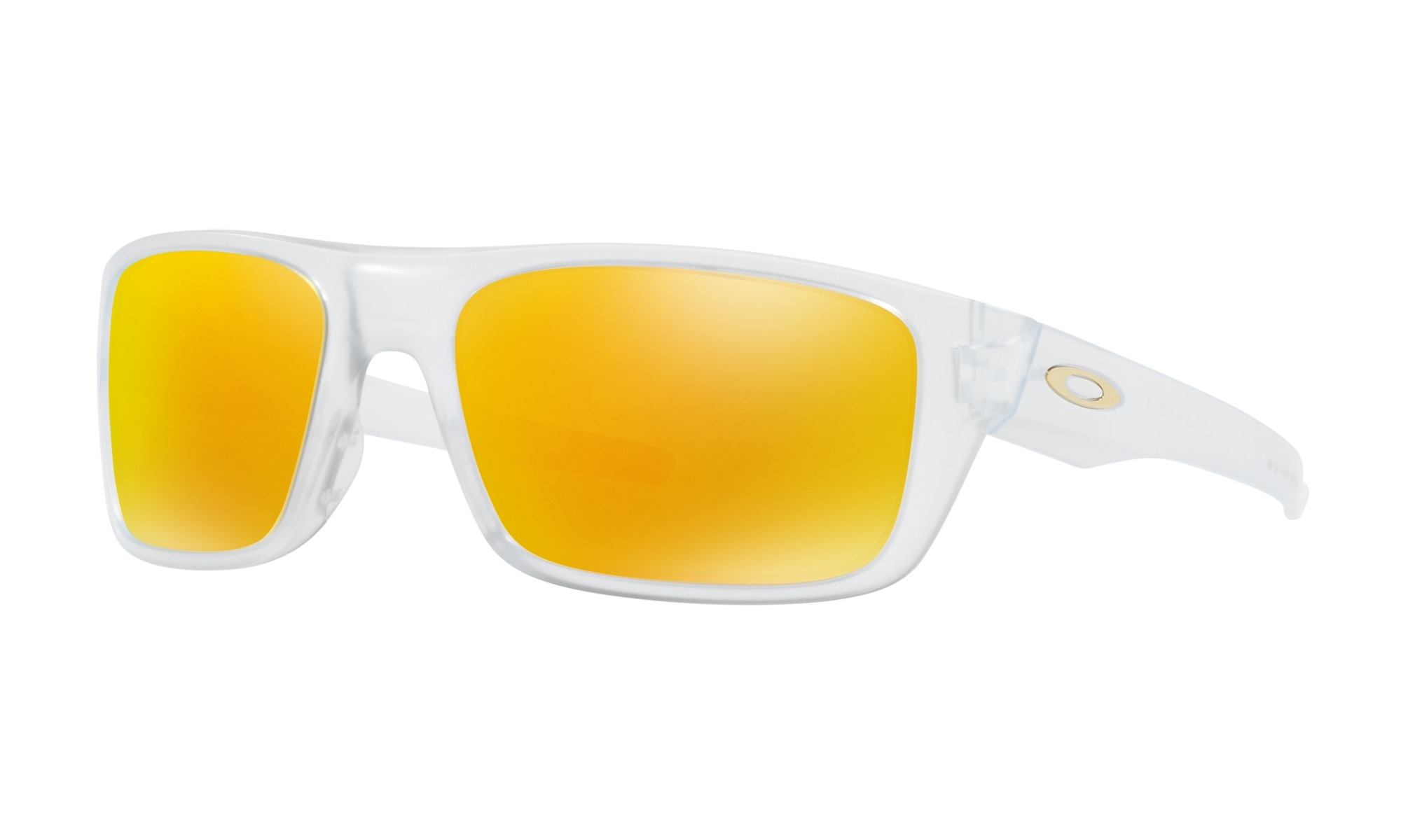 Gafas de sol Oakley Drop Point - Matte Clear / Fire Iridium