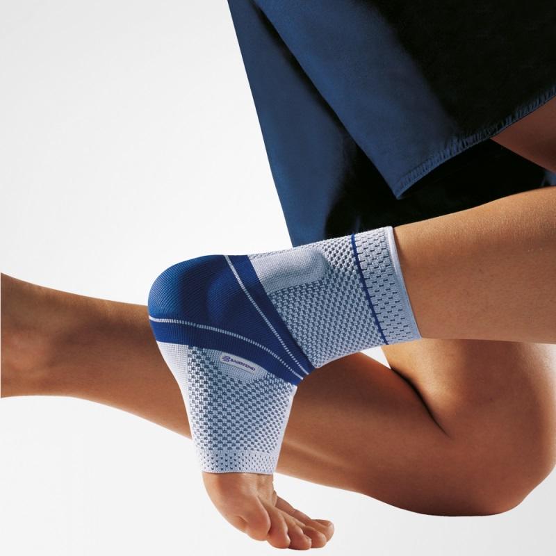 Image of   Bauerfeind MalleoTrain Bandage - Beige - Left_2