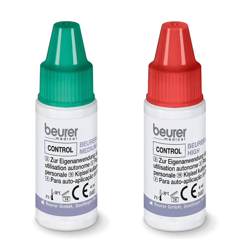 Image of   Beurer Control Solution Medium 1x High 1x GL30,32,34, BGL40 / 60