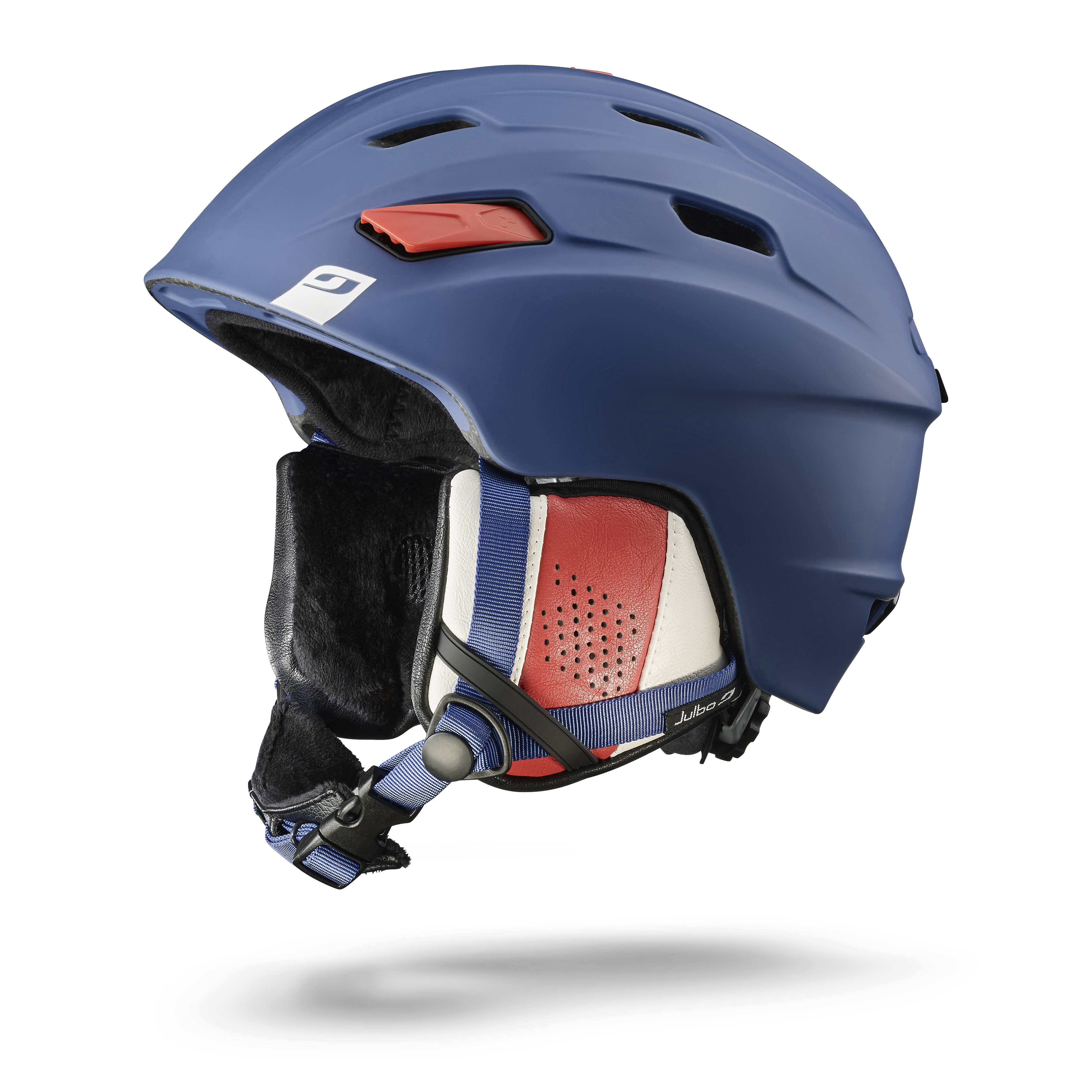 Image of   Julbo Mission Helmet - blue / white / red - L