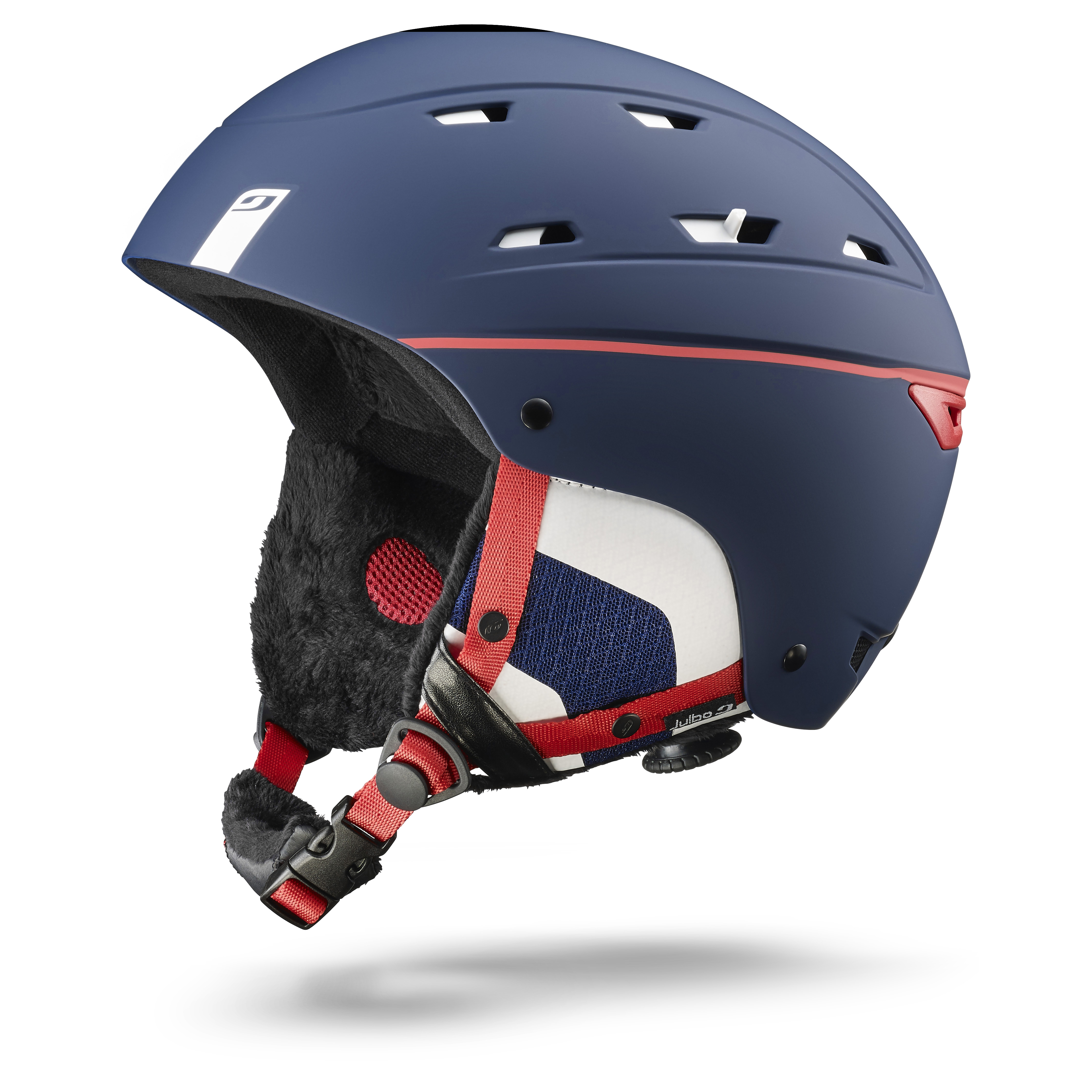 Image of   Julbo Norby Helmet - blue / white / red - L