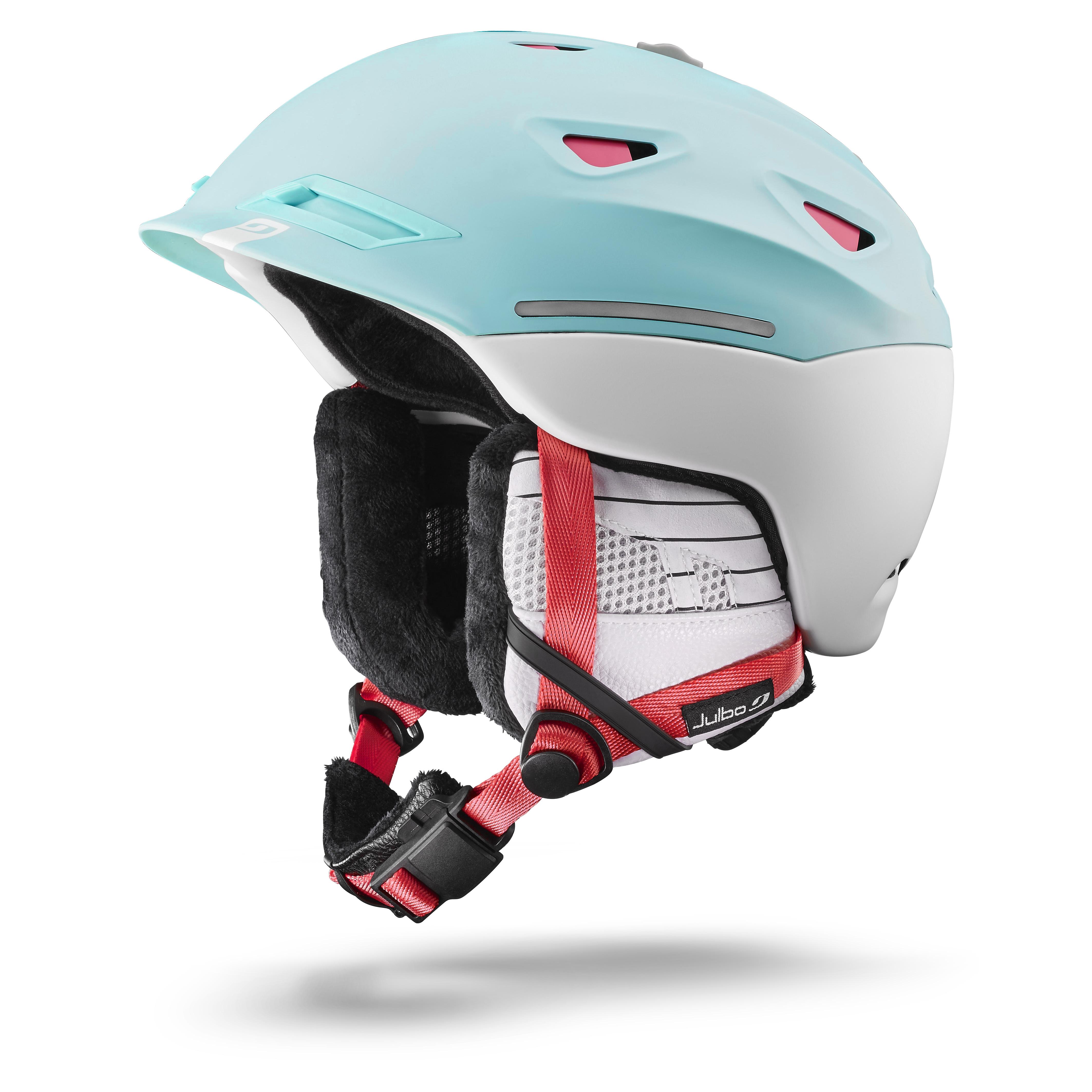 Image of   Julbo Odissey Helmet - blue / white / pink