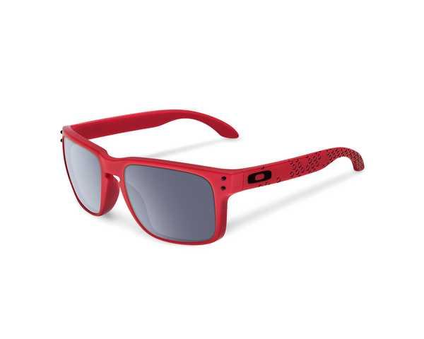 Oakley HOLBROOK Zonnebril matte red/grey