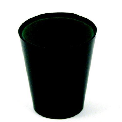Image of   Longfield Pokercup Læder Sort - 9 cm