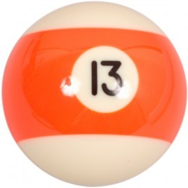 Image of   Aramith Loose Billiard No.13 Ball 57.2mm