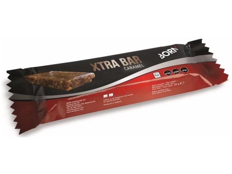 Image of   BORN Xtra Banana Boost (Energy Bar) Nutrition - 12 x 55 g