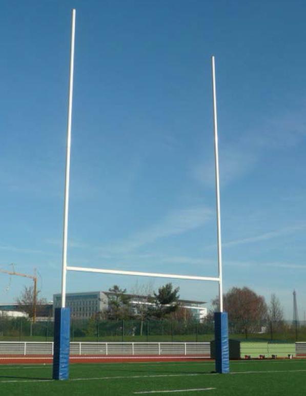 Image of   Rugby Stål Mål Indlæg 8 m - med hængsler