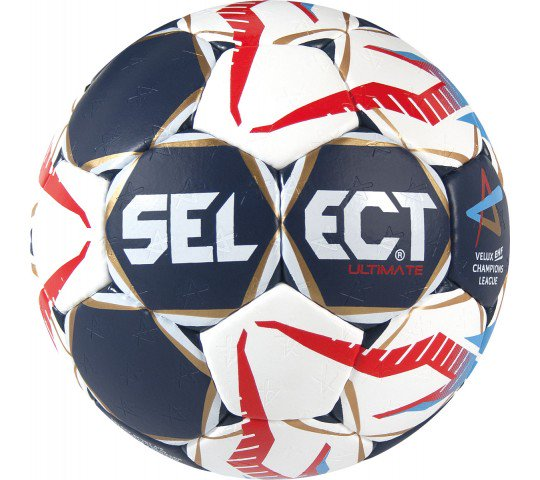 Select Ultimate CL Handball - Blue / White / Red - Size 3