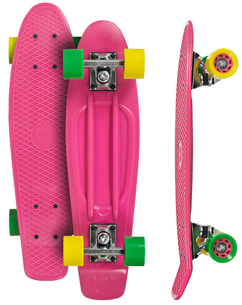 Image of   Choke Shady Lady Juicy Susi Vinyl Board 22,5 tommer - Pink