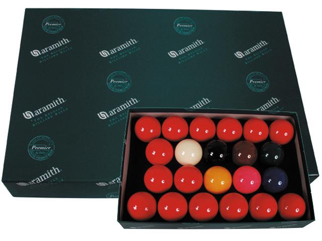 Snookerballen Aramith per set