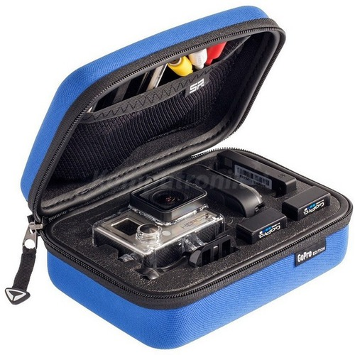 Image of   Sp Gadgets Case GoPro - Edition - Blå - Extra Small