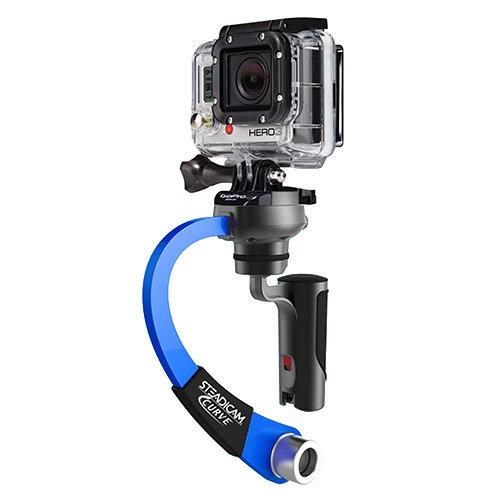 Steadicam Curve - Stabilisator voor GoPro - Blauw