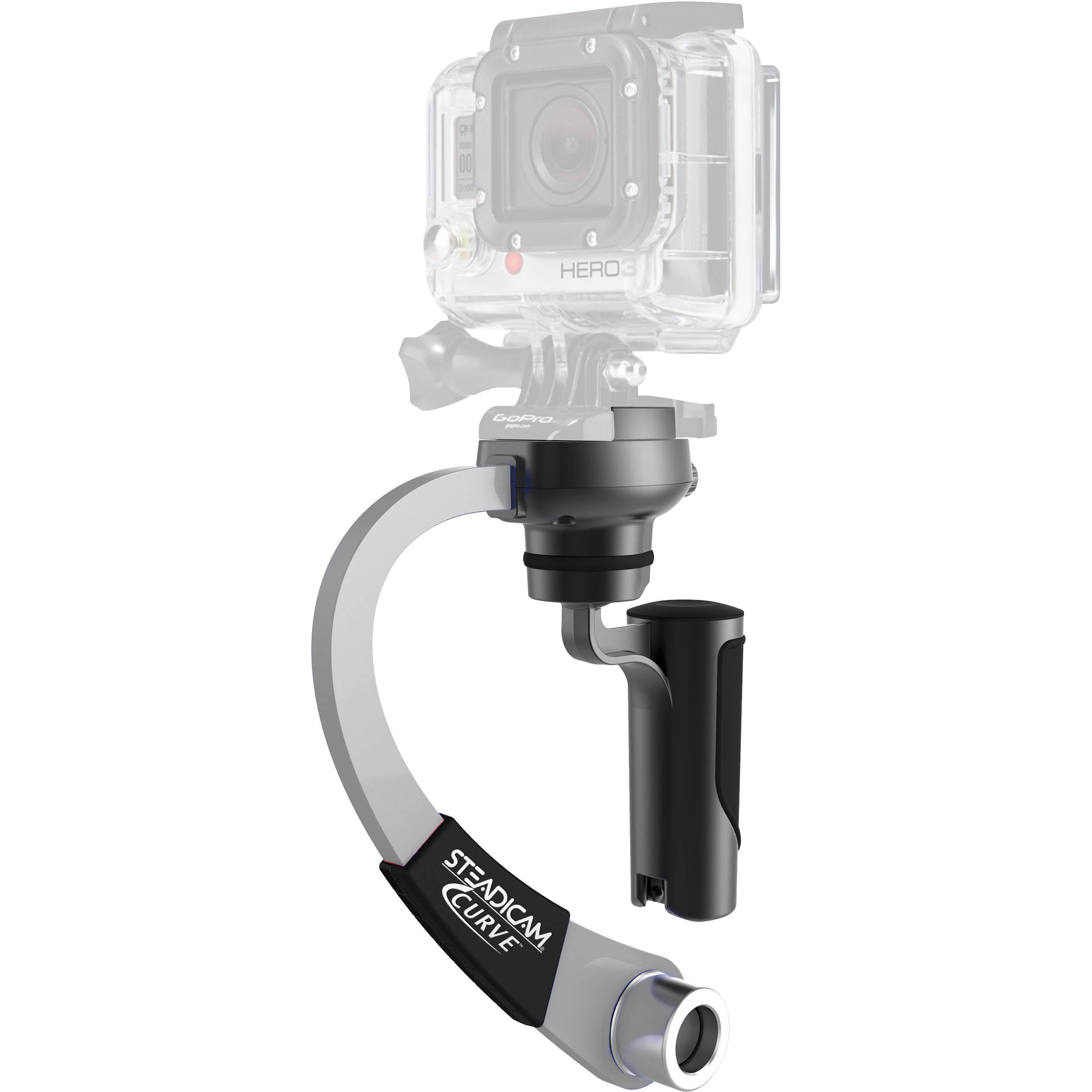Steadicam Curve - Stabilisator voor GoPro - Zilver