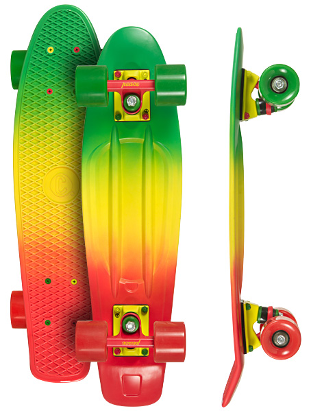 Image of   Choke Juicy Susi Skateboard - 22,5 x 6 tommer - Snow Hill