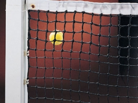 Image of   Double Tennis Net 3 mm - Sort
