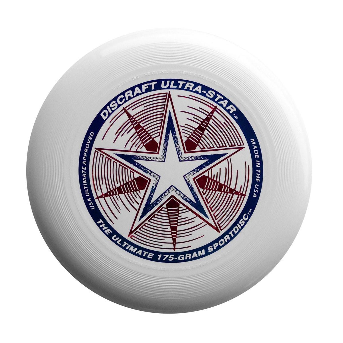Image of   Discraft Ultra Star Frisbee - Hvid