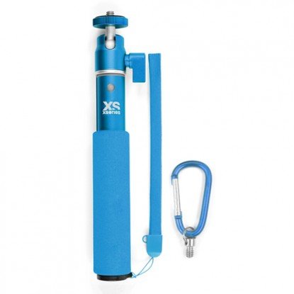Xsories U-Shot 2 selfiestick Blauw 50cm