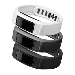 Garmin Vivofit 2 Polsbanden Zwart-Grijs-Wit S