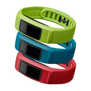 Garmin Vivofit 2 Polsbanden Rood-Blauw-Groen S