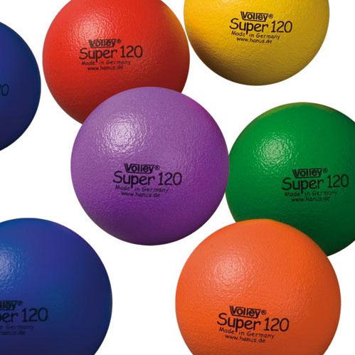 Image of   Volley ELE Super Foam Ball - 120 mm - 50 g - Gul