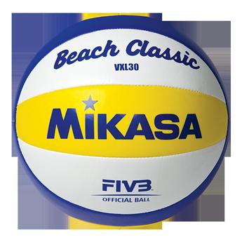 Image of   Mikasa vxl30 beach klassiske volleyball - størrelse 5