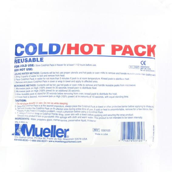 Image of   Mueller Genanvendelig Varmt og Cold terapi Pack 12 x 15,2 cm