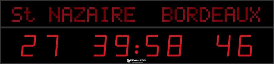 Image of   Stramatel FRC AD 35 Scoreboard - 6000 x 1400 mm